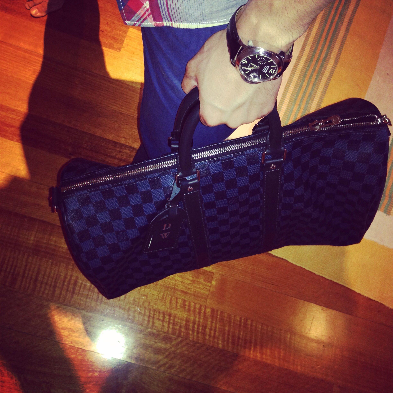 Louis Vuitton Keepall 45 in Damier Cobalt