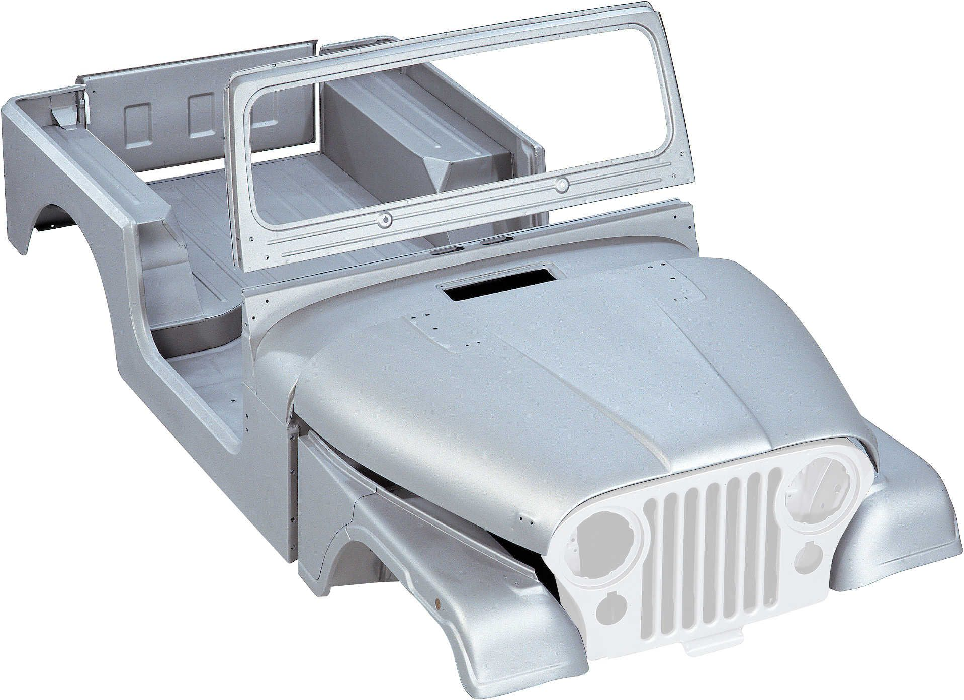 Md Juan Cbk027 Steel Body Tub Kit With Hood Fenders Windshield