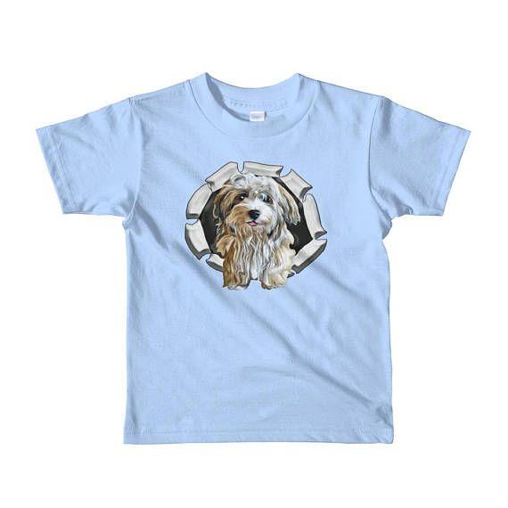 Havanese Dog Breed Short Sleeve Kids T Shirt Havanese Dogs Dog Breeds Havanese