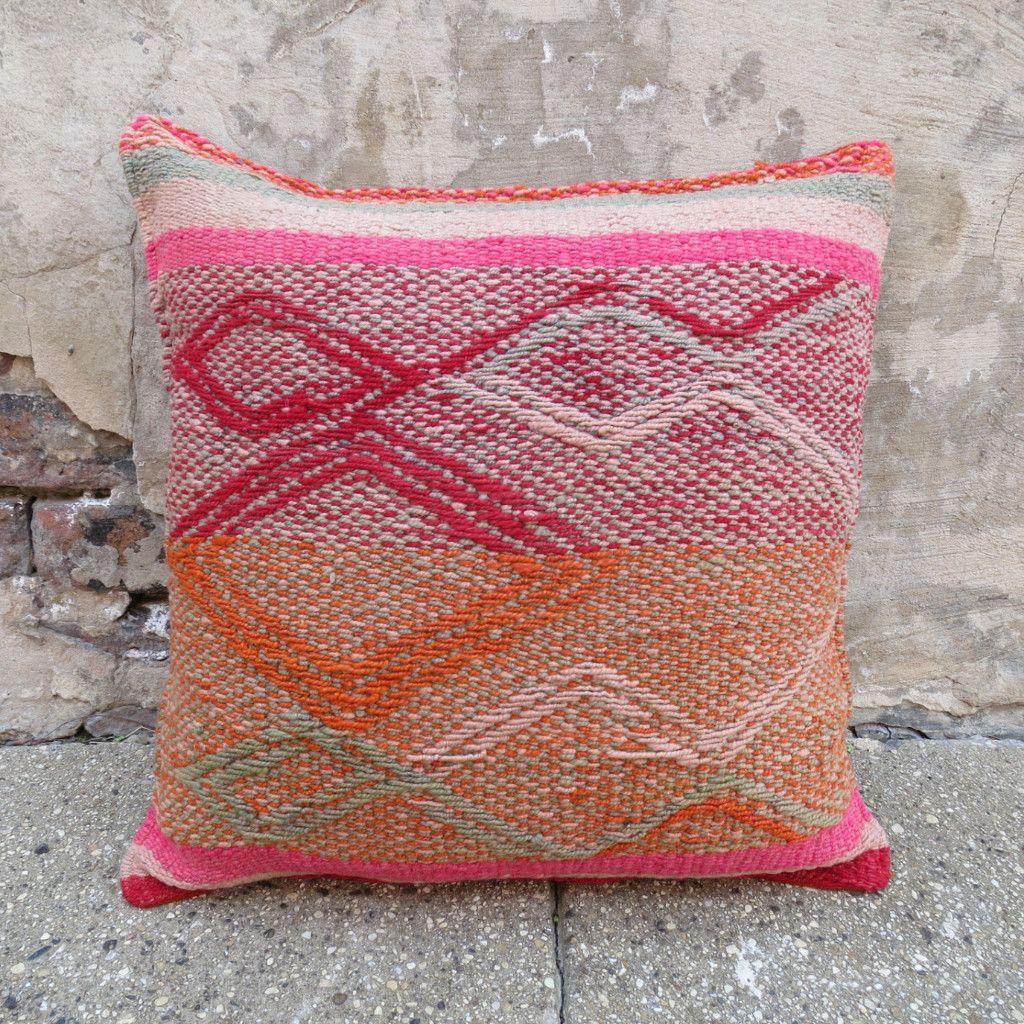 Peruvian Frazada Pillow 13