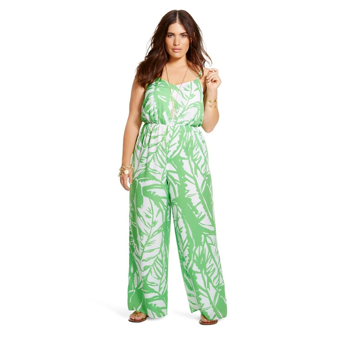 Lilly Pulitzer For Target Womens Plus Size Satin Jumpsuit Boom