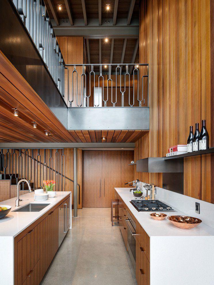 15 beautiful mid century modern kitchen interior designs modern kitchen interiors galley on l kitchen interior modern id=82521