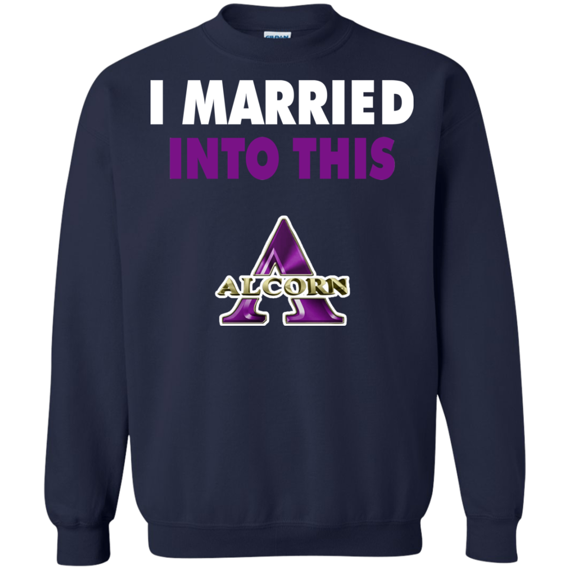 info for 927db bd67d Alcorn State Braves T shirts I Married Into This Hoodies ...