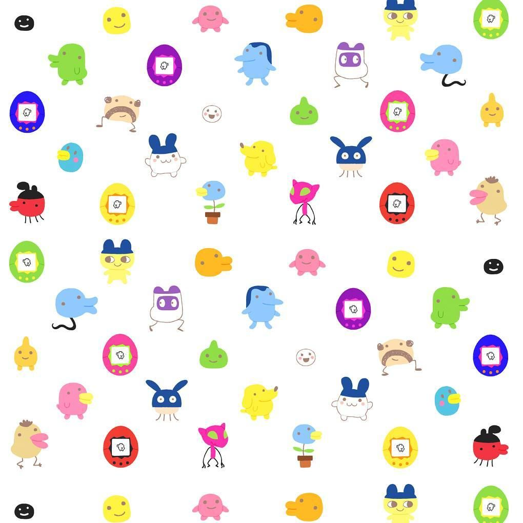 Tamagotchi pattern patterns pinterest tamagotchi pattern geenschuldenfo Image collections