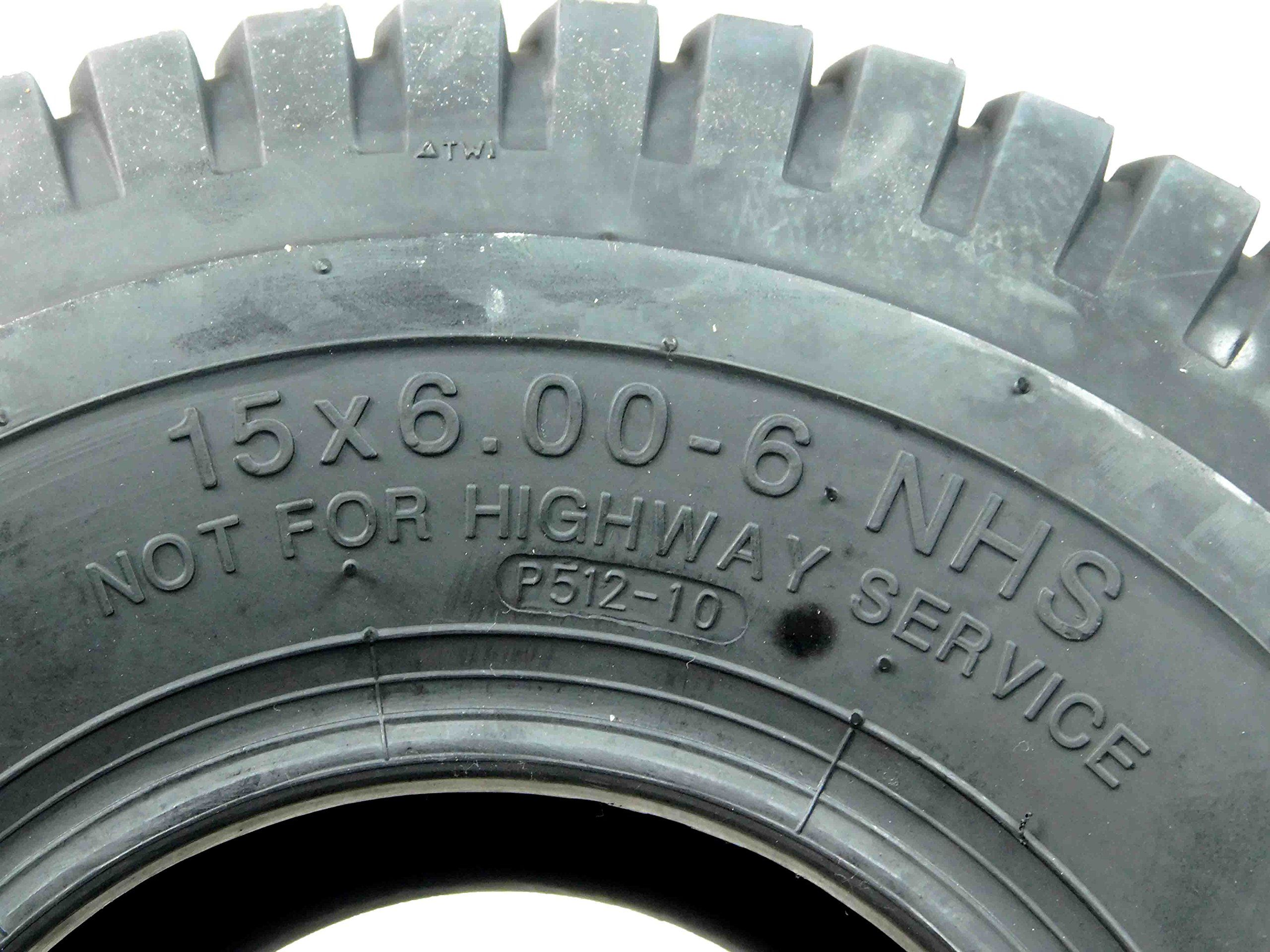 Massfx Lawn And Garden Mower Tires 15x66 Mo1566 4 Ply 6mm Tread 2 Tire Set Details Could Be Discovered By Click Lawn Mower Tires Lawn And Garden Lawn Mower