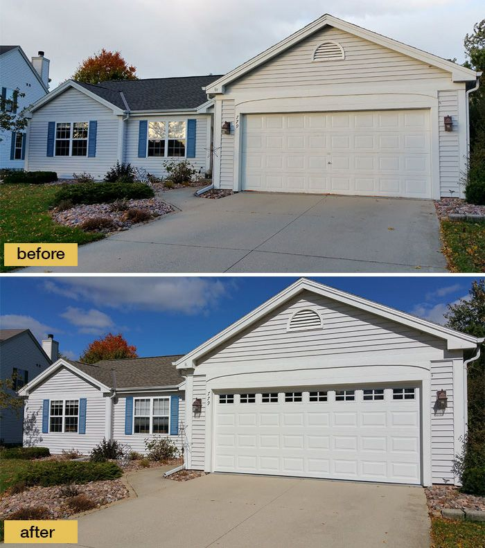 Adding Windows To Your Garage Door Is A Small Change That Can Have A Big  Impact