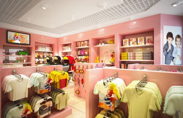 Pink Kids Stores