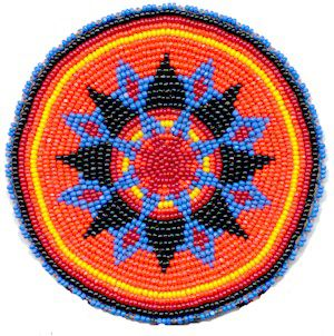 Native American Beaded Rosettes | KQ Designs - Native American Beadwork, Powwow Regalia, and Beaded ...