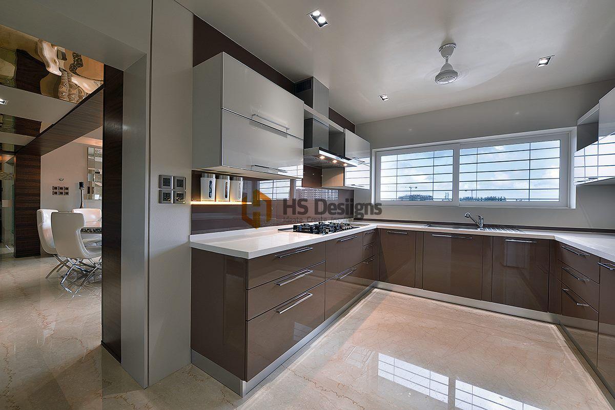 Modern And Sleek Kitchen Design.