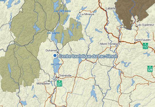 camping lac simon 3 h de la maison.....1216, rue Principale   Case postale 61    Duhamel   (Québec)    J0V 1G0