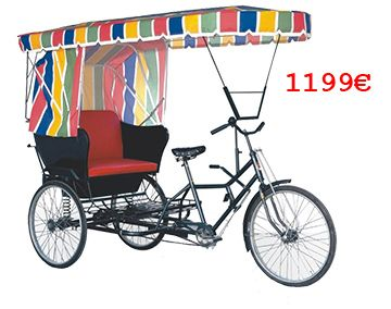 Moghul Rikschas Rikschas 1199 Tricycle Adult Tricycle Cargo Bike