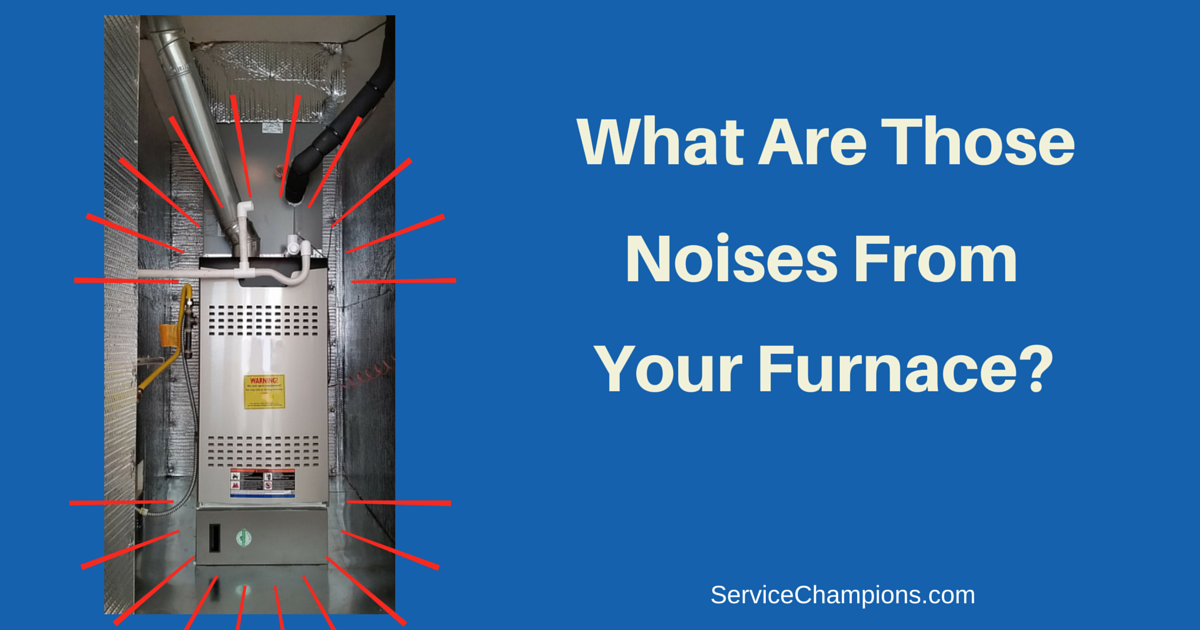 Why Is Furnace Making A Squealing, Clicking, Rattling