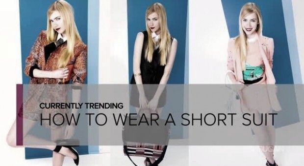 How to Wear a Short Suit!
