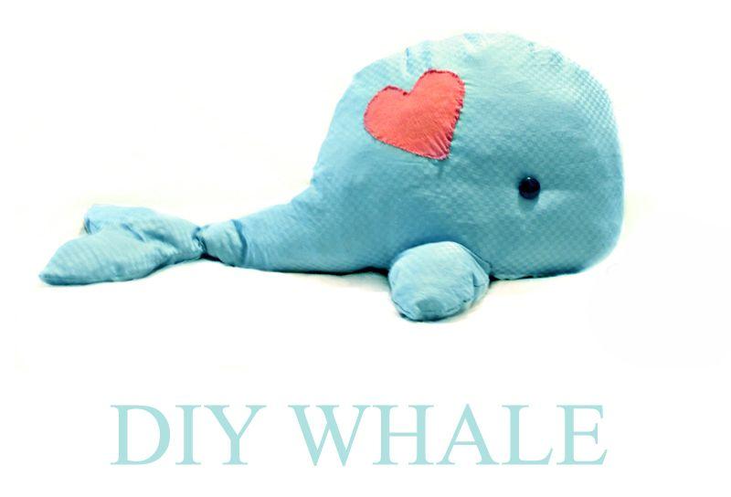 Walli The Whale {Tutorial}- Cause who doesn\'t want their own whale ...