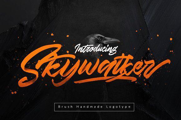 Skywalker Logotype 25% OFF (UPDATE) by Dirtyline Studio on @creativemarket