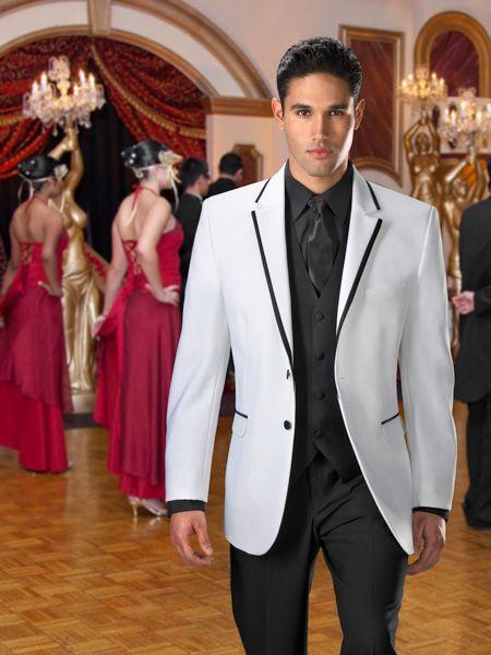 classic black and white tux | Mr & Mr <3 | Pinterest | Tuxedos