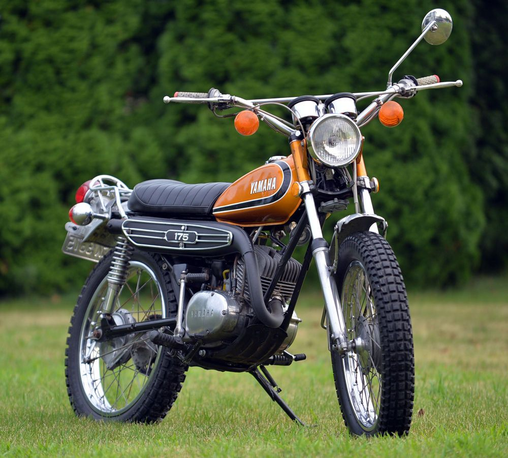 yamaha other ebay 1973 yamaha ct3 enduro motorcycle. Black Bedroom Furniture Sets. Home Design Ideas