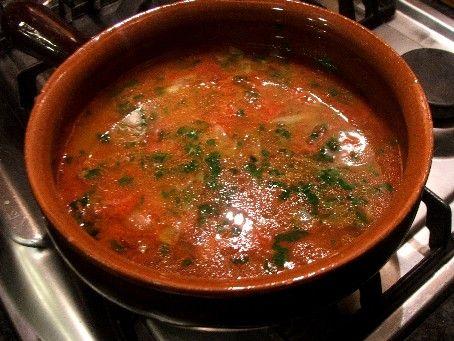 Zuppa di pesce senza spine.
