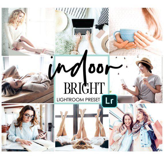 4 Mobile Lightroom Preset / Indoor Bright Mobile Preset