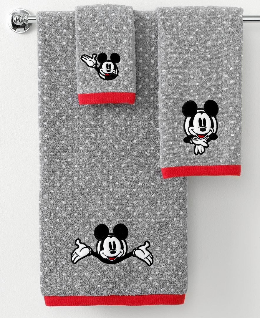 "Disney Bath Towels, Disney Mickey Mouse 27"" X 50"" Bath"