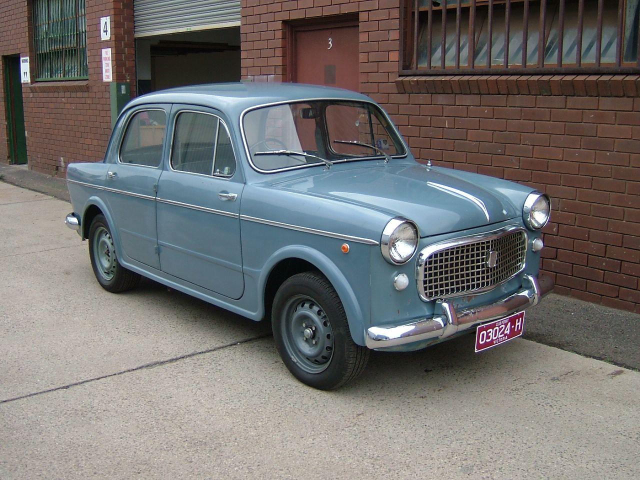 1954 Fiat 1100 4 Door Doors