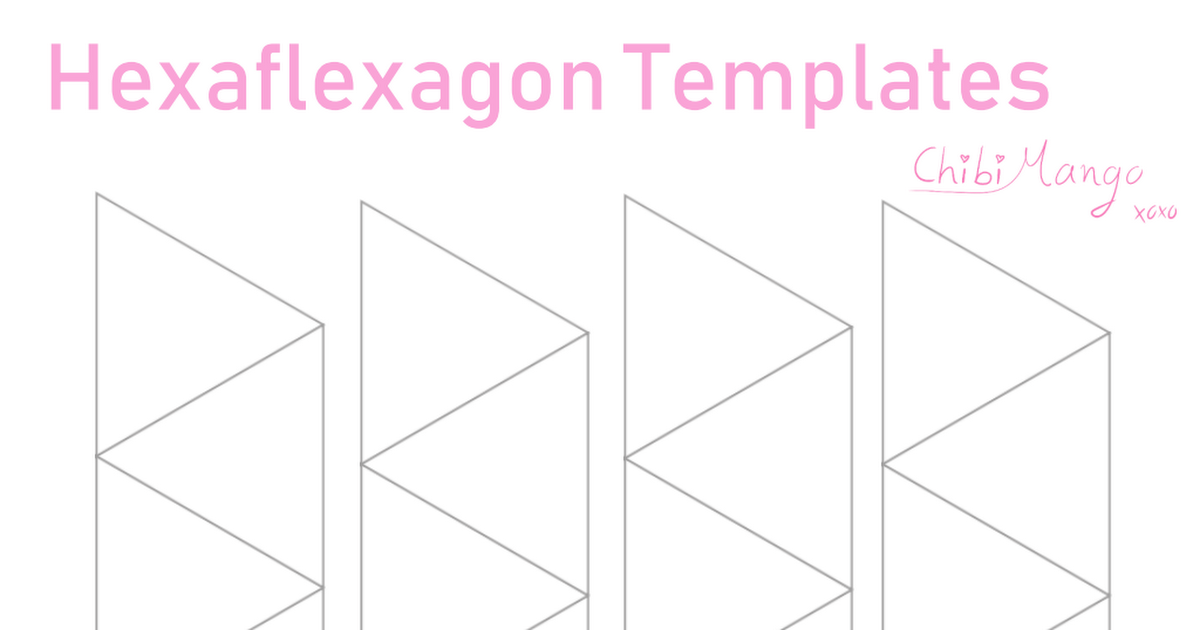 Kpop Hexaflexagon Template Pdf Templates Kpop Pdf