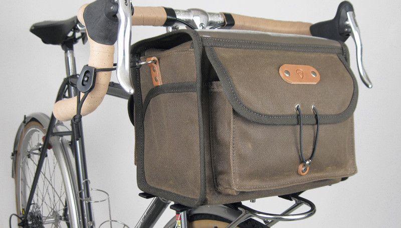 Acorn Bags Traditional Bicycle Luggage Handlebar Bag Bags