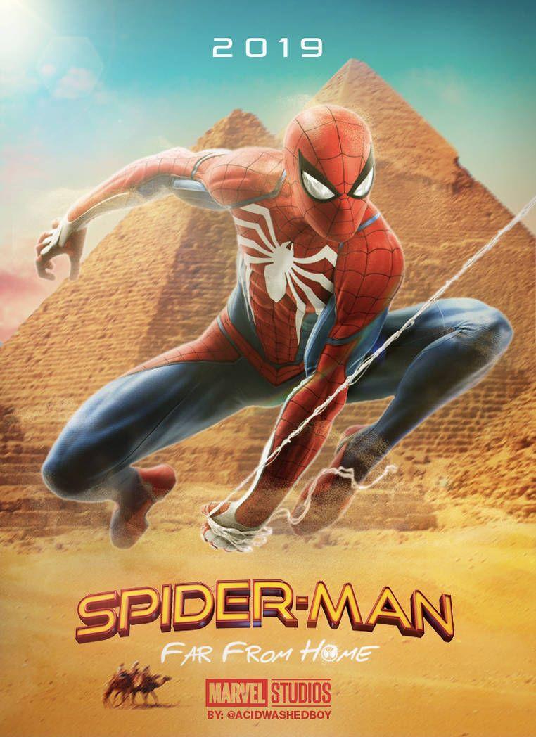 สไปเดอร แมน ฟาร ฟรอม โฮม Spider Man Far From Home 2019 Spiderman Movies To Watch Man
