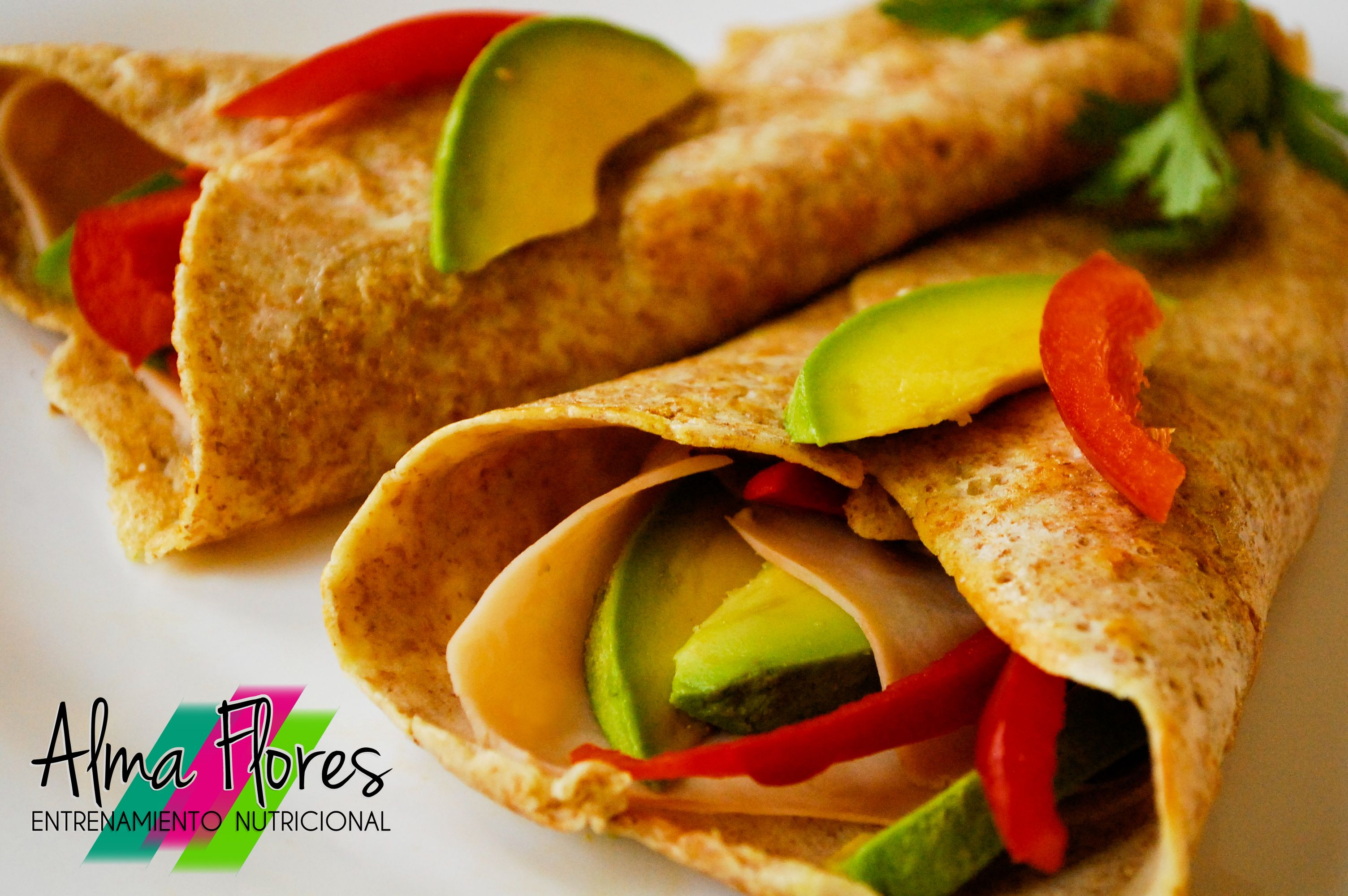 Crepas saladas snacks de media ma ana pinterest - Como se hacen crepes dulces ...