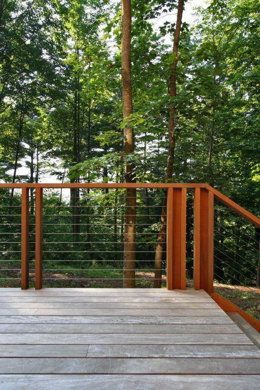 Berkshire House Simplex Industries Railing Modern Exterior