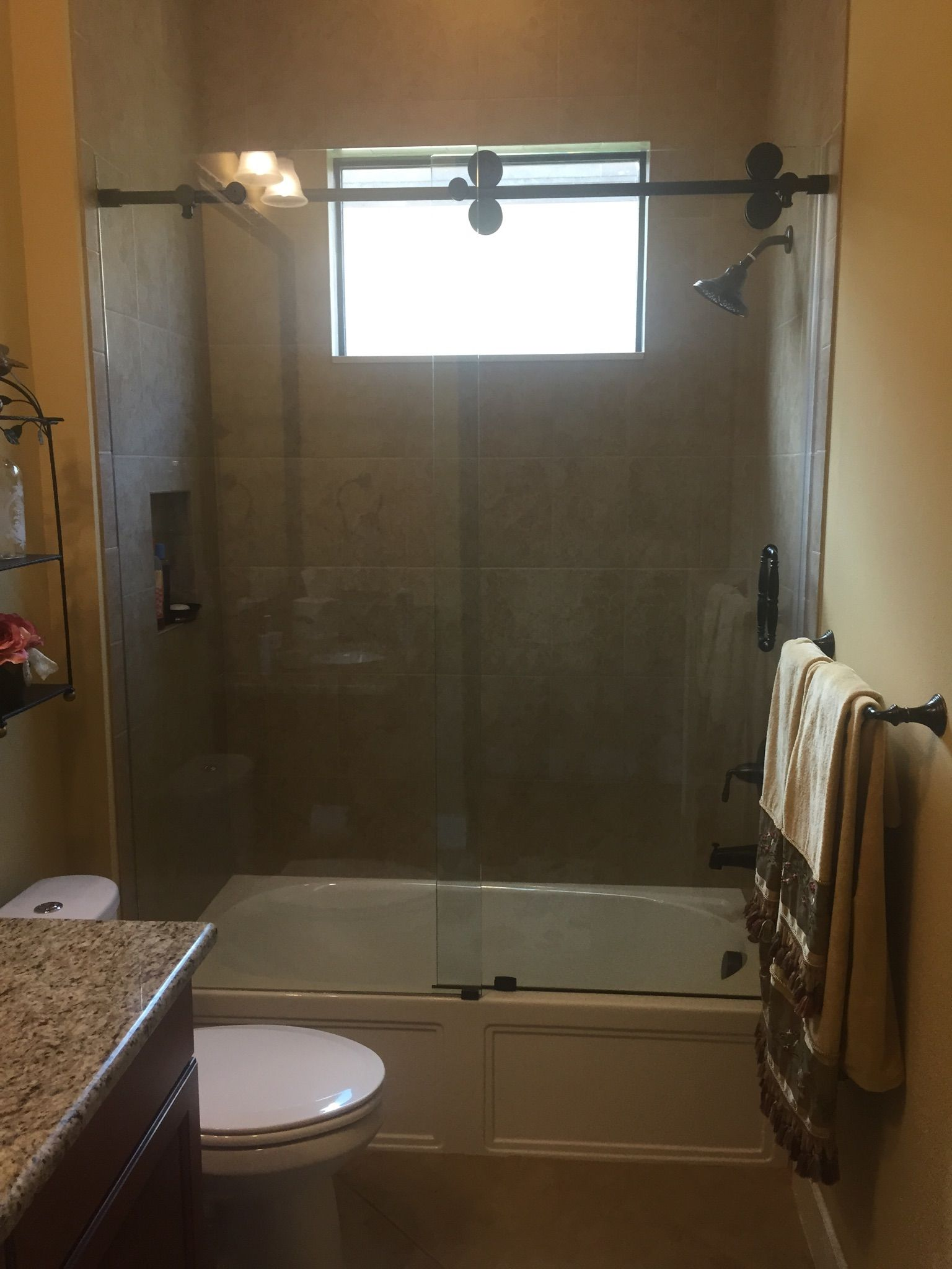 Barn Style Glass Shower Doors Glass Shower Doors Shower Sliding