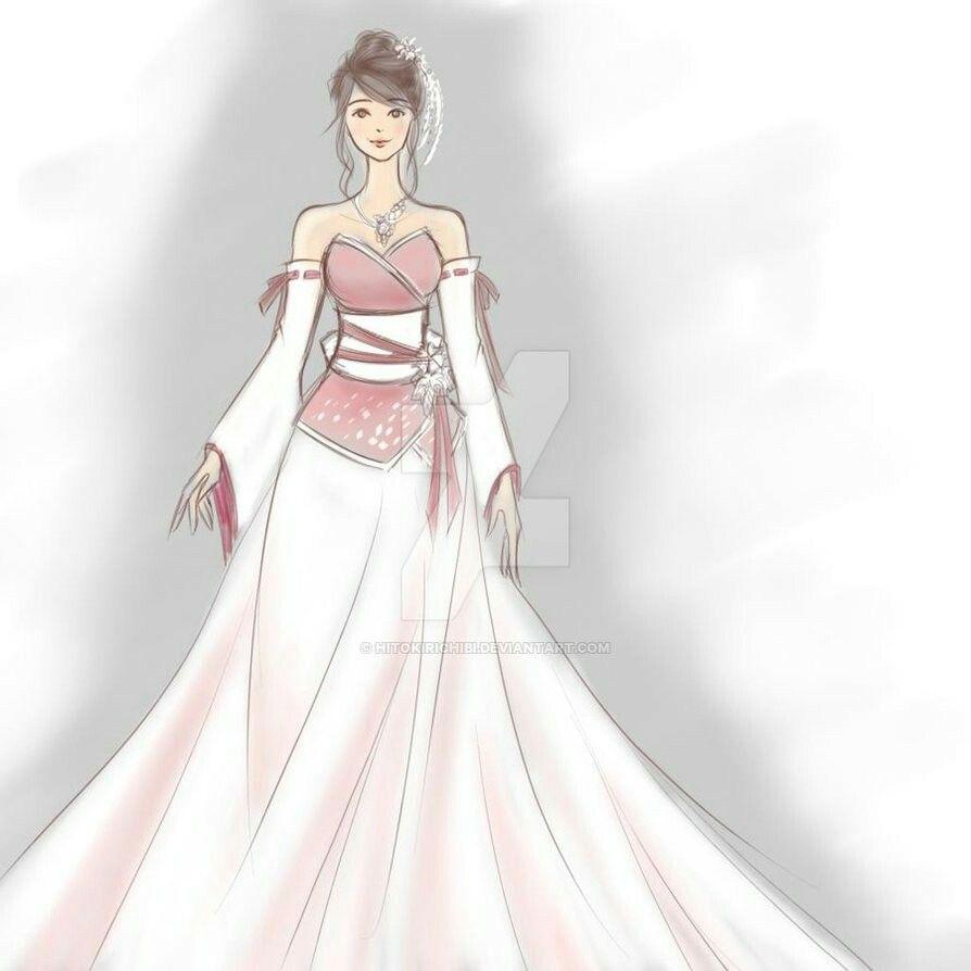 Kimono Wedding Dress | Wedding | Pinterest | Kimonos, Fashion ...