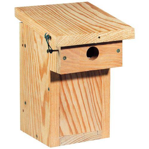 Nichoir balcon lpo nichoirs 32mm nichoirs jardin d - Plan mangeoire oiseaux gratuit ...