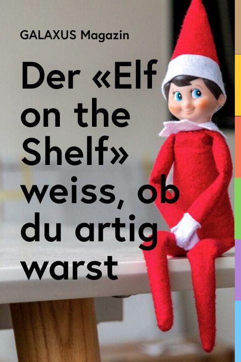 «The Elf on the Shelf» sorgt dafür, dass deine Kinder während der Adventszeit artig bleiben. Eine Weihnachtstradition aus Amerika, die nun die Schweiz erobert.
