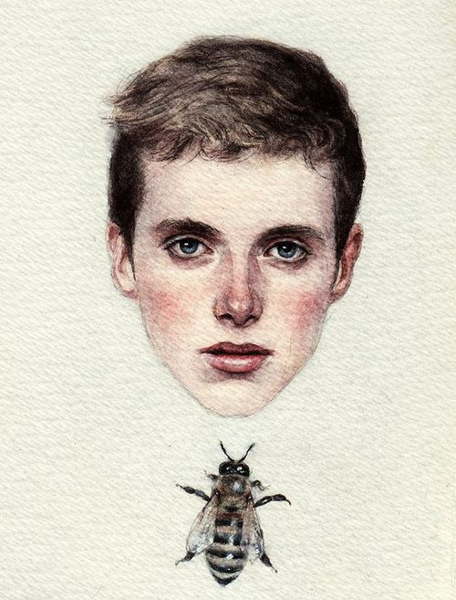 Boy with Bee