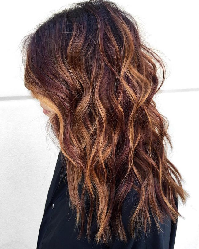 Cherries And Caramel With Rich Chocolate Hair Styles In 2018