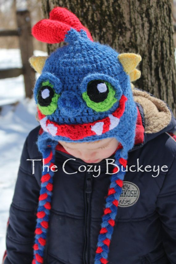 Sky Monster Hat Character Hat Sizes Newborn to Adult Halloween Costume
