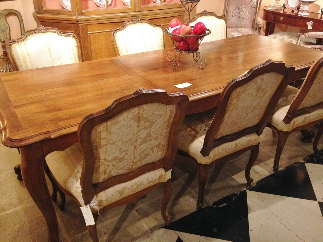 Vintage Country French Dining Table  Palladio Antiques Http New Country French Dining Room Set Decorating Design