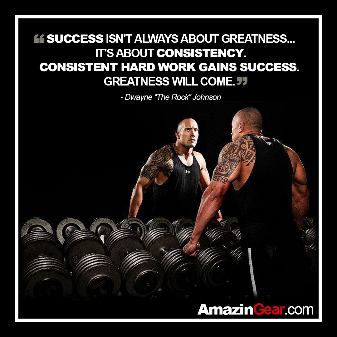 SUCCESS ISN'T ALWAYS ABOUT GREATNESS... IT'S ABOUT ...