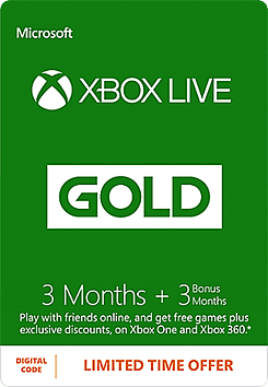 Uk Daily Deals 6 Months Xbox Live For 15 Pubg With Patrol Tech