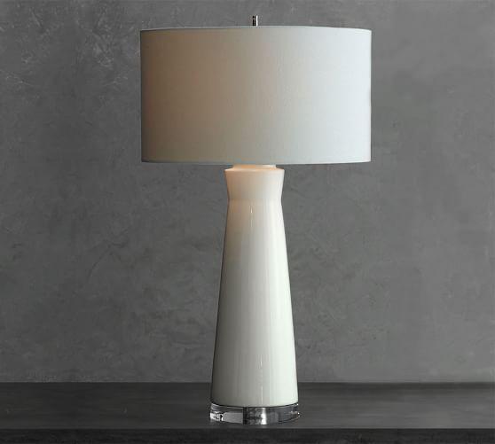 Cerena Ceramic Column Table Lamps Lamp Table Lamp
