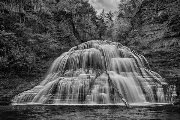Lower Falls at #NYParks #RobertTremanStatePark #IthacaIsGorges