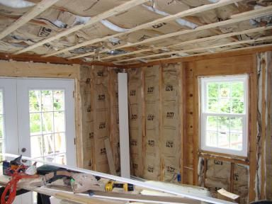 How To Insulate Your House With Kraft Paper Faced Insulation Home Insulation Interior Wall Insulation Home