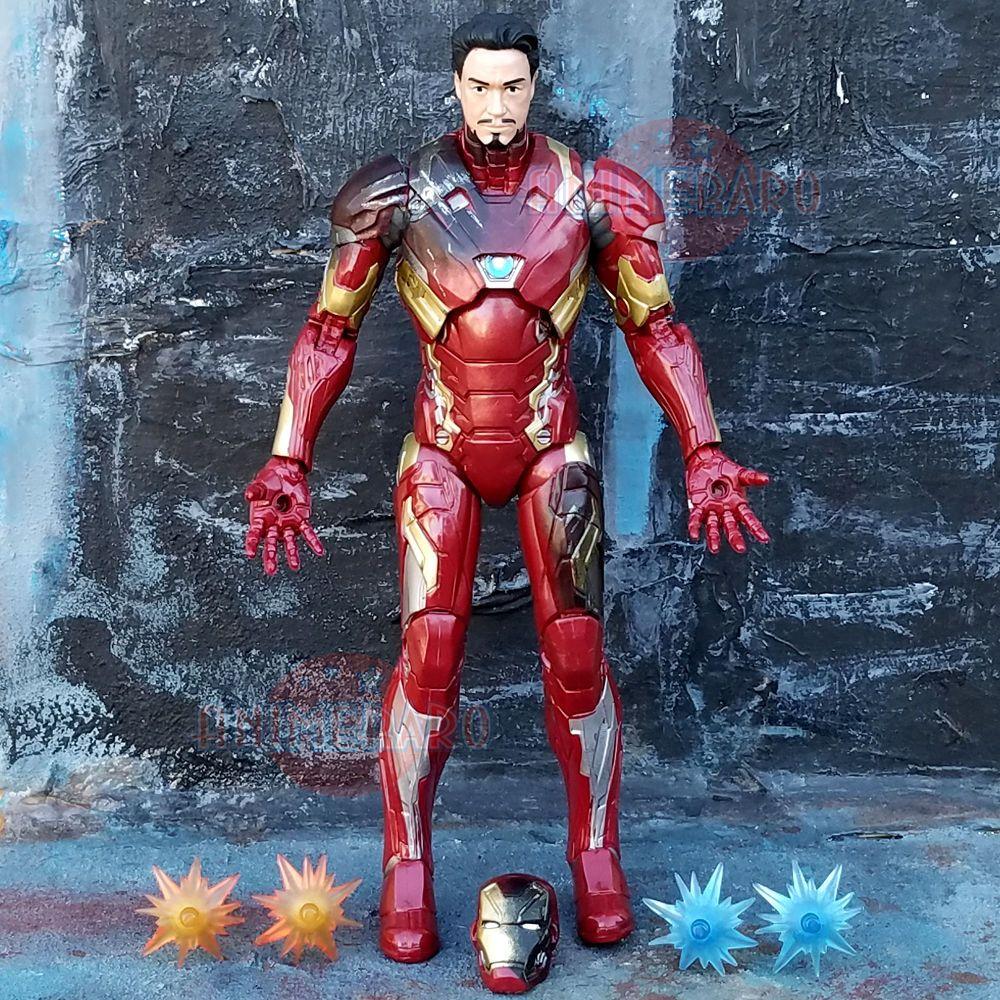 Marvel Legends Captain America Civil War 3 Pack Iron Man 6 Inch Figure Loose Captain America Civil War Marvel Legends America Civil War