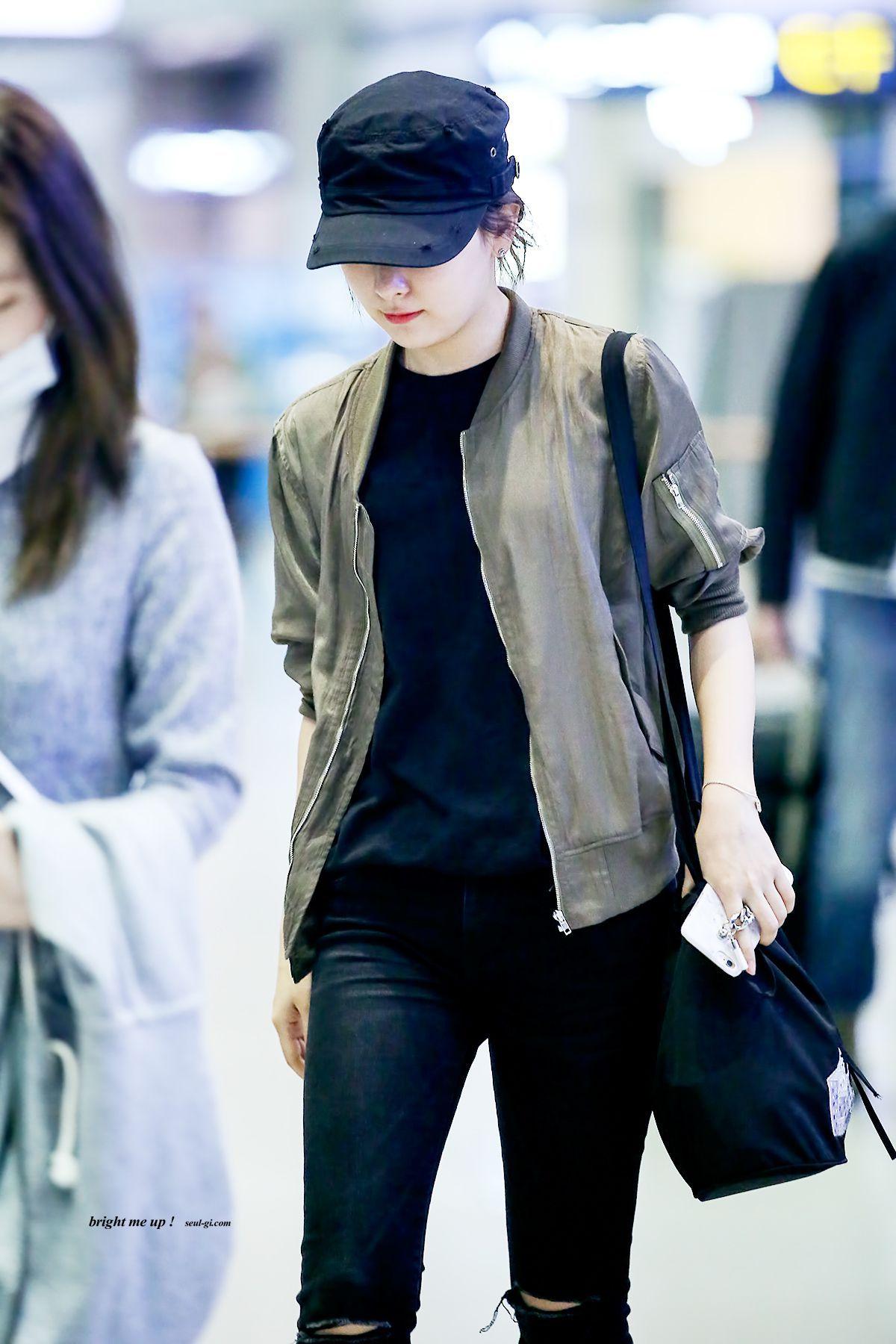 Im Anya Eighth Member Of Bts Korean Airport Fashion Red Velvet Seulgi Airport Fashion Kpop