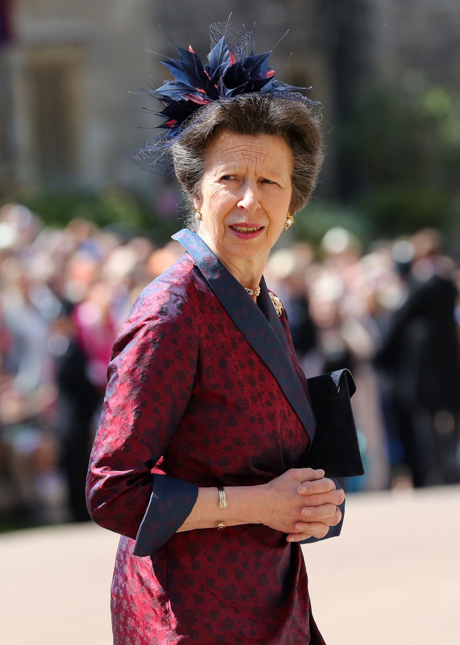 The wedding of Anne, Princess Royal to Mark Phillips
