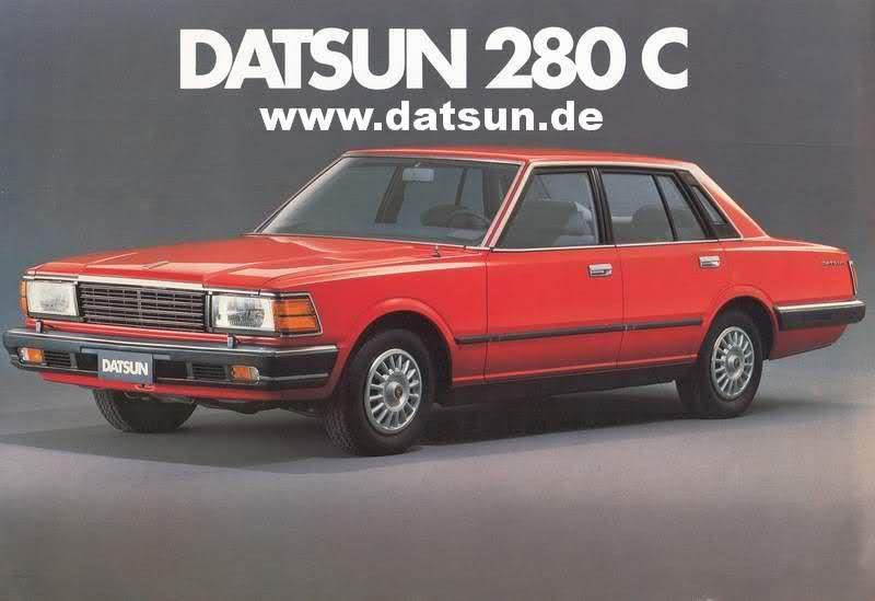 Switzerland Brochure Datsun 280c 1982 Oldjapanesecar Com Forum Datsun Nissan Infiniti Nissan