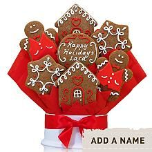 Gingerbread Cookie Bouquet - 7 Piece