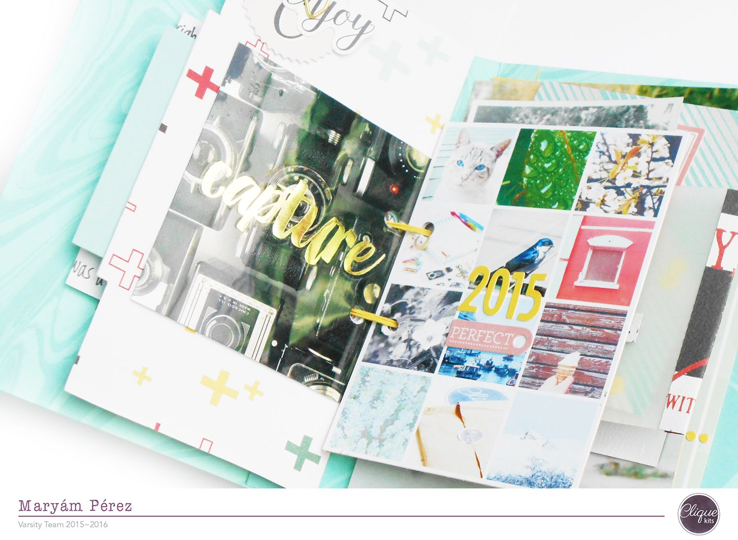 Scrapbooking and Photography.