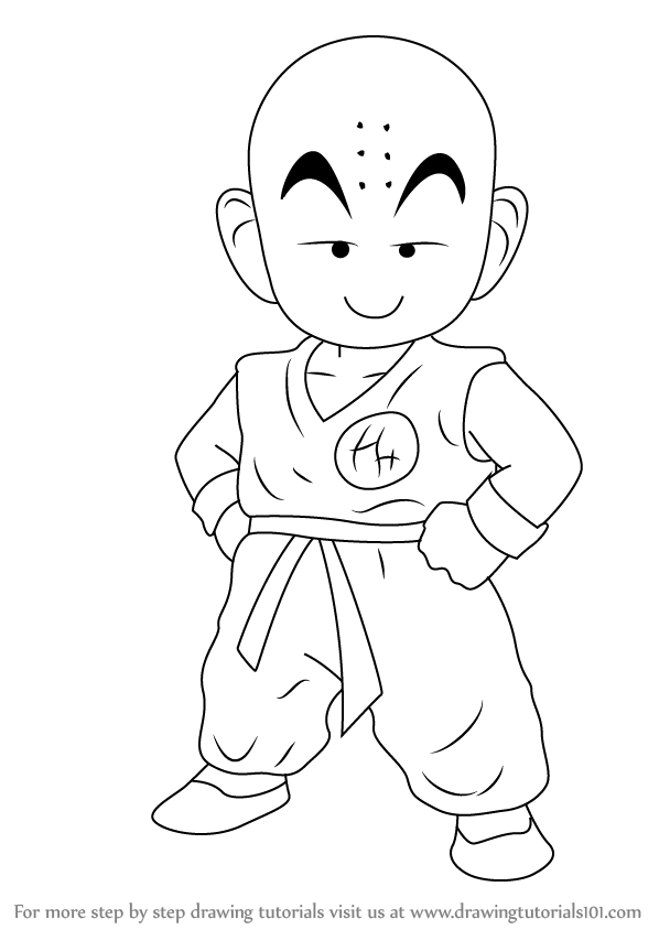 Learn How to Draw Kuririn from